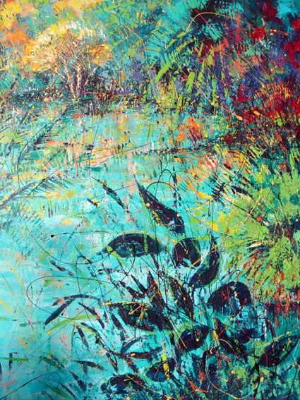 Abstrait expressionniste alain moreau artiste peintre for Peintres abstraits