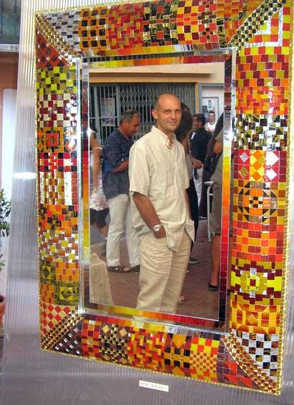 Decoration d interieur miroirs creation jean pyrka for Miroir en mosaique